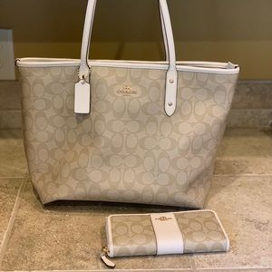 Coach Purse and Wallet Matching Set